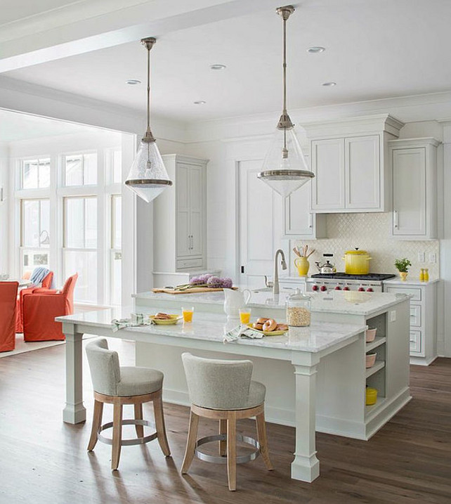 Beach House With Colorful Interiors