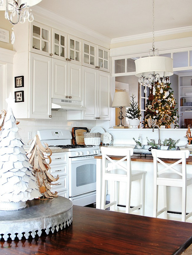 New christmas decorating ideas home bunch interior for Christmas kitchen decor
