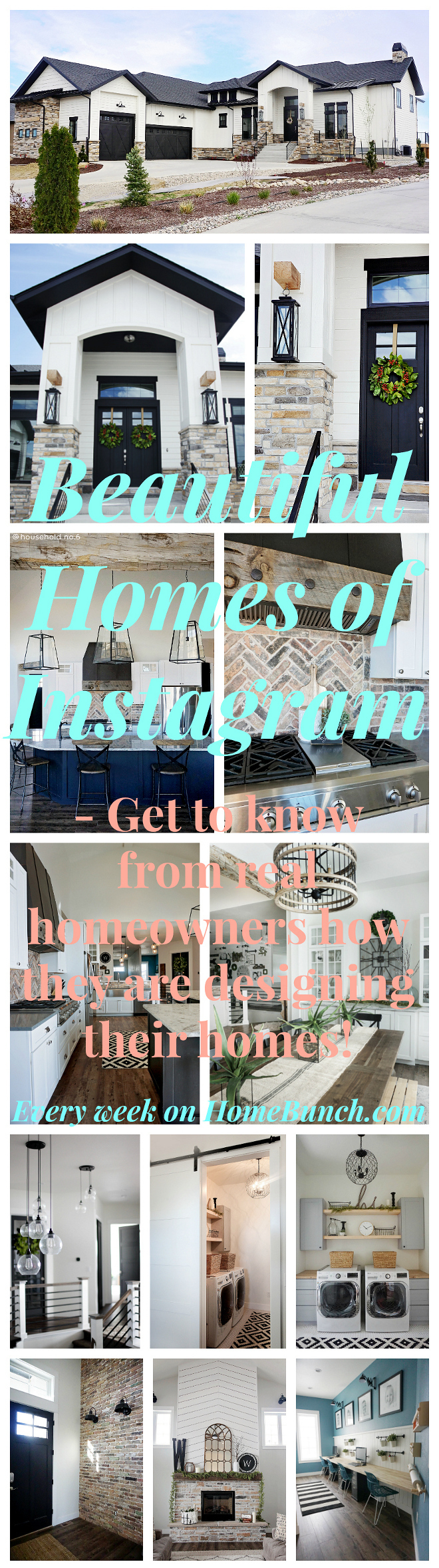 Beautiful Homes of Instagram Get to know from real homeowners how they are designing their homes #BeautifulHomes #Instagram