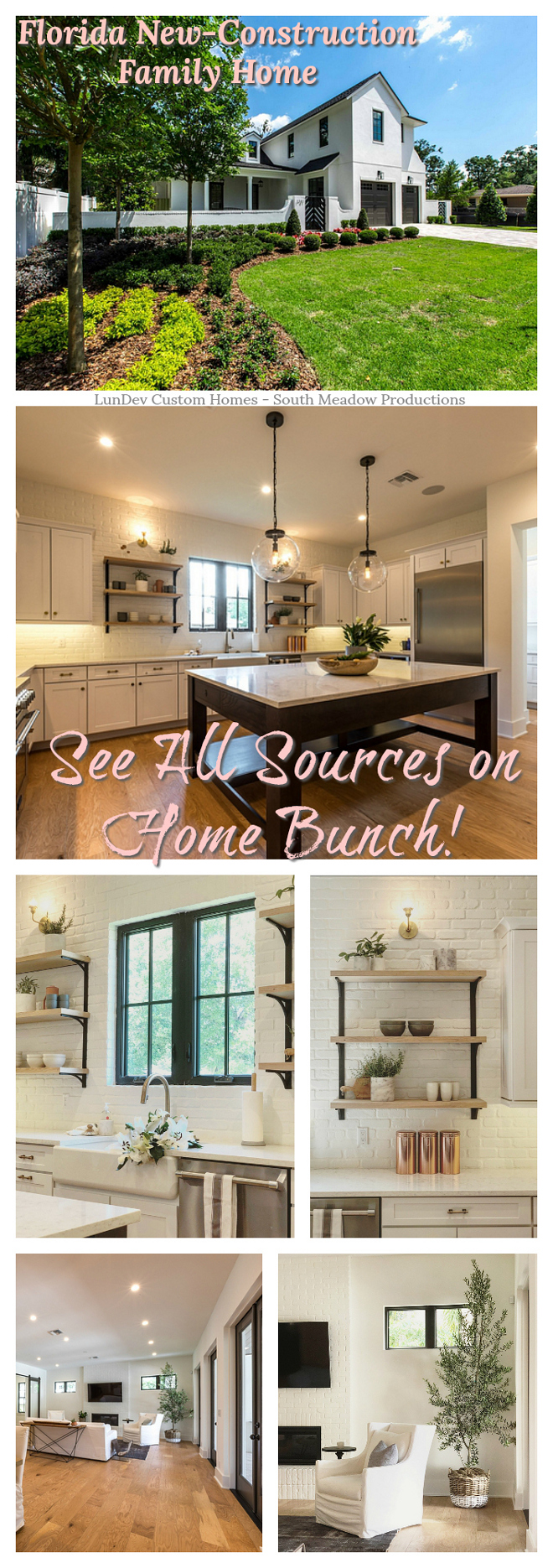 Florida New-Construction Family Home See sources on Home Bunch Florida New-Construction Family Home #Florida #NewConstruction #FamilyHome