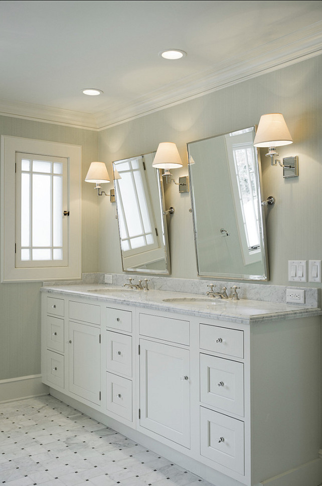 Bathroom Design. Bathroom Ideas. Bathroom cabinet. Bathroom Paint Color. Bathroom Flooring. #Bathroom Cameo Homes Inc.
