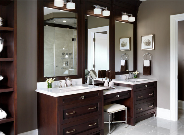 Bathroom Vanity. Bathoom Vanity Design. #BathroomVanity #BathroomDesign #Vanity Designed by Jane Lockhart.