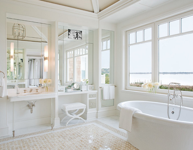 Bathroom. Classic Bathroom Ideas. Master Bathroom Ideas. Master Bathroom Design. #Bathroom #MasterBathroom #BathroomDesign #BathroomIdeas Alice Black Interiors.