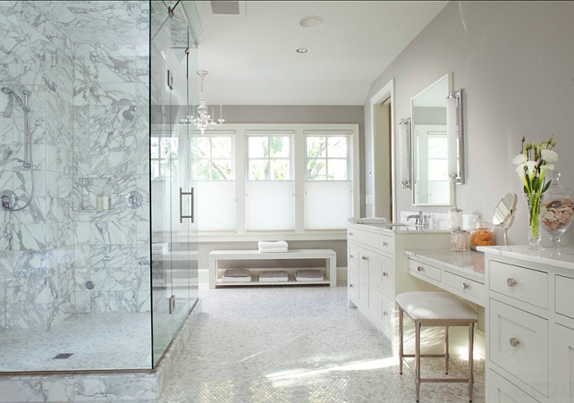 Bathroom. Spacious bathroom design. Charlie & Co. Design, Ltd