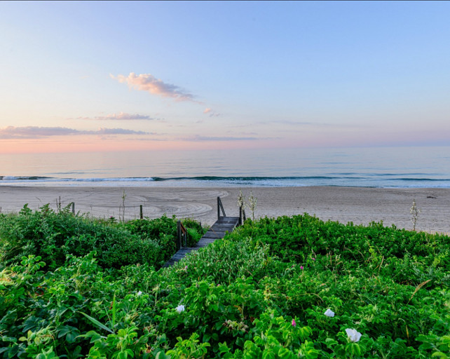 Beach. Beach House with ocean view, Location? The Hamptons! #BeachHouse #Beach #Hamptons