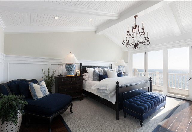 Bedroom. Master Bedroom Design. Coastal Master Bedroom Decor. #MasterBedroom #Bedroom