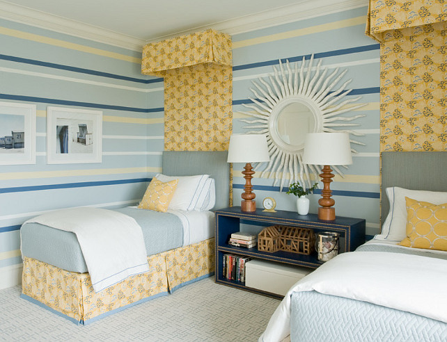 Bedroom. Shared Bedroom Ideas. Shared Bedroom Design. #SharedBedroom #BedroomDecor #BedroomIdeas #BedroomDesign Alice Black Interiors.