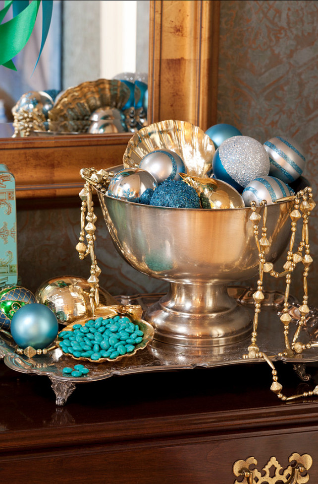 Christmas Decorating Ideas. #ChristmasDecor Tobi Fairley Interior Design.