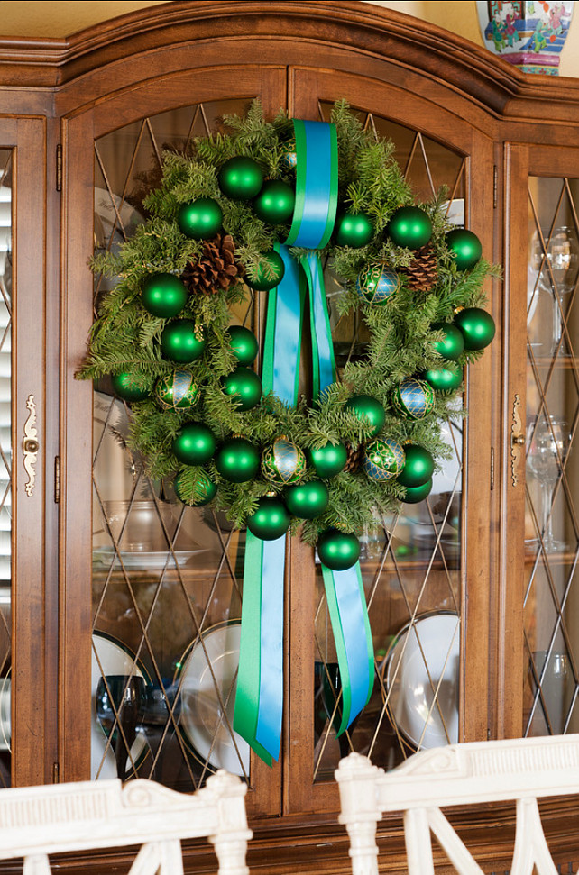 Christmas Wreath Ideas Tobi Fairley Interior Design.