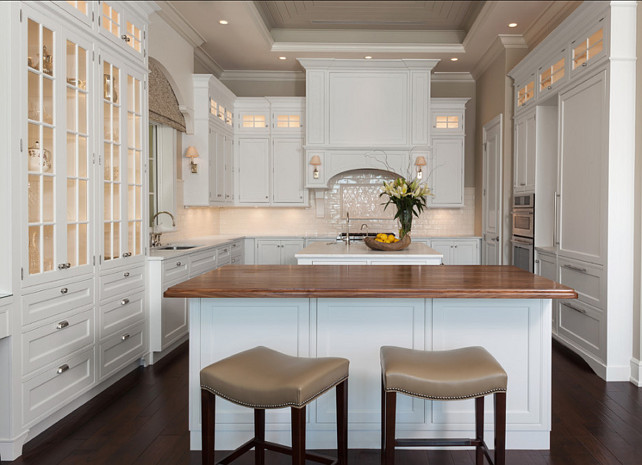 Classic White Kitchen. Classic Kitchen. Kitchen. AlliKristé Custom Cabinetry and Kitchen Design.