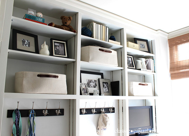 Closet Organization Ideas. #ClosetOaganization Designed by Classic Chic Home. .