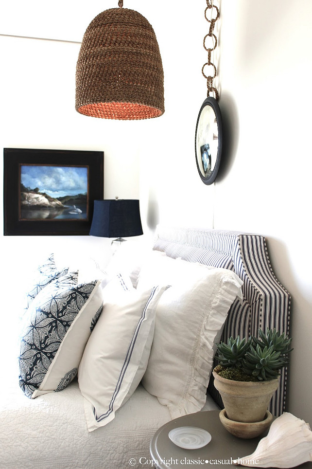 Coastal Bedroom Ideas. Coastal Bedroom Design. #CoastalBedroom Designed by Classic Chic Home.