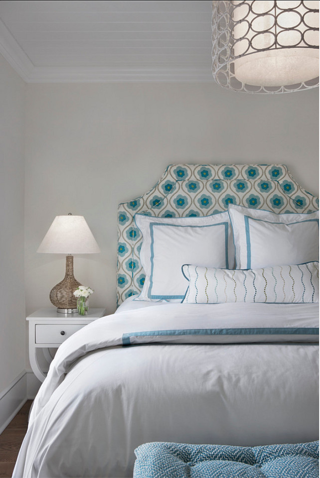 Coastal Bedroom Ideas. Great bedroom with coastal decor ideas. #Bedroom #CoastalBedroom #CoastalDecor Designed by Cottage Company Interiors.