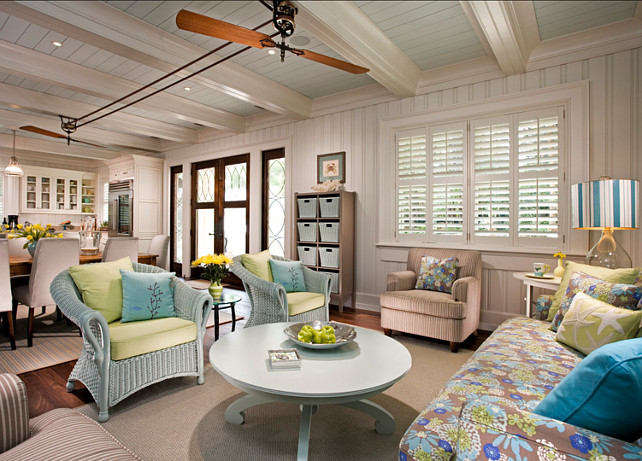 Coastal Interiors. Coastal Decor Interiors. Coastal interiors with beautiful coastal decorating ideas. Coastal