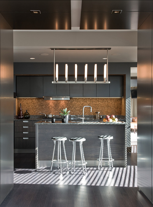 Contemporary Kitchen. Kitchen ideas. Contemporary Kitchen Design. Contemporary Apartment Kitchen Design. Terrat Elms Interior Design.