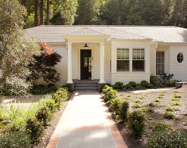 Cottage Exterior Ideas. Cottage Exterior Paint Color. Shingle Cottage Exterior. #CottageExterior #CottageExteriorIdeas #ShingleCottageExterior Rasmussen Construction.