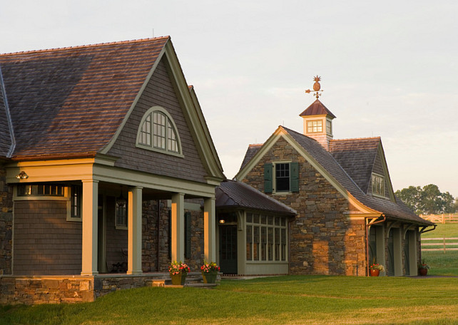 Country Home Ideas. Country Home Exterior Ideas. Griffiths Construction, Inc.