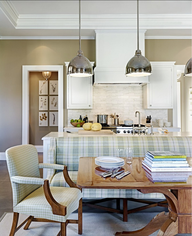 Kitchen Nook. Wonderful kitchen and nook design. #Kitchen #Nook #BreakfastNook