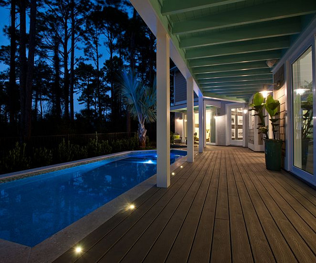 Deck Pool. Inspiring Deck Pool Design. #Pool #Deck #Porch