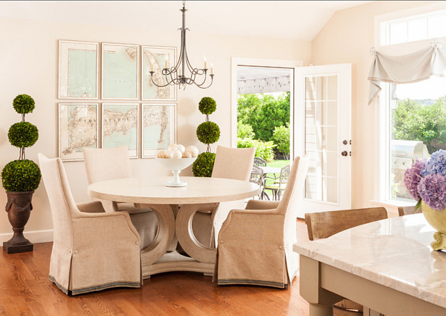 Dining Room. Dining Room Decor. Dining room furniture with subtle color palette. #DiningRoom #DiningRoomDecor #DiningRoomColorPalette #DiningRoomColor #DiningRoomIdeas #DiningRoomFurniture Casabella Home Furnishings & Interiors.