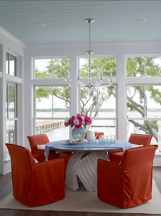Beach House With Colorful Interiors Home Bunch Interior