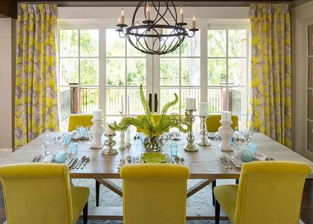 Dining Room. Dining Room Design. Great dining room furniture and decor ideas. #DiningRoom #DiningRoomIdeas #DiningRoomDesign #DiningroomFurniture Designed by Martha O'Hara Interiors.