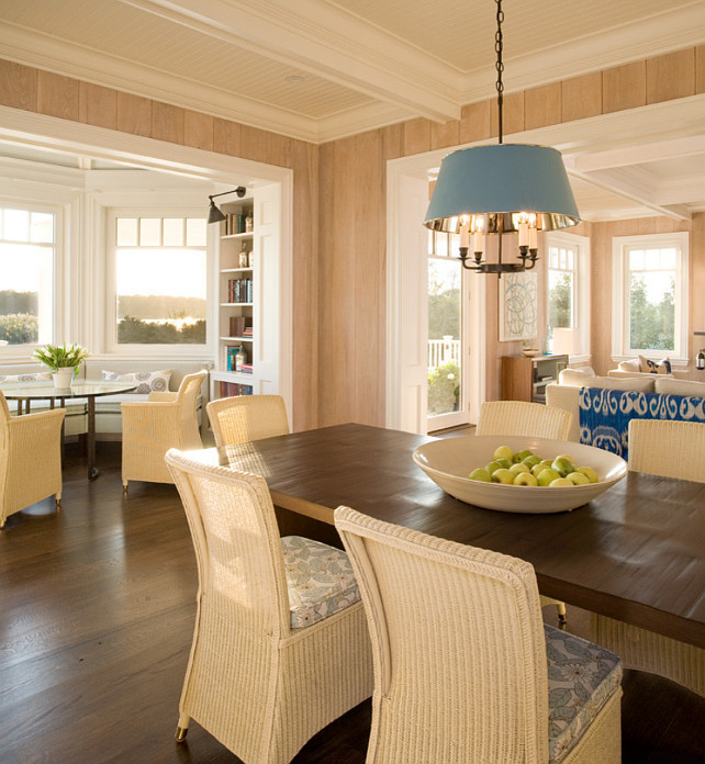 Eating Area Ideas. Beach Style Eating Area. #EatingArea #EatingAreaDesign #EatingAreaIdeas #EatingAreaDecor Alice Black Interiors.