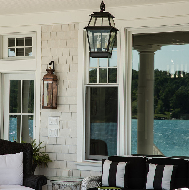 Homeinterior Lighting Ideas: Coastal Home With Traditional Interiors