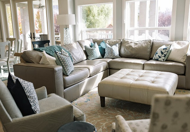 Family Room Sofa Ideas. Family Room Sectional. #FamilyRoom   Four Chairs Furniture.