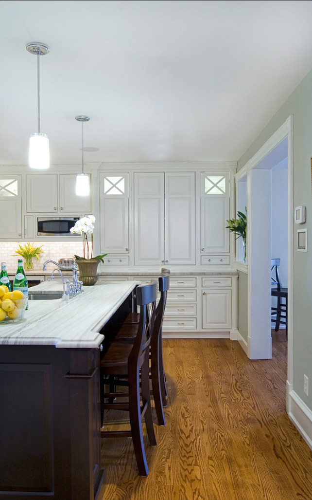 KItchen Ideas. Kitchen Cabinet color ideas. Fox Associates, Inc.