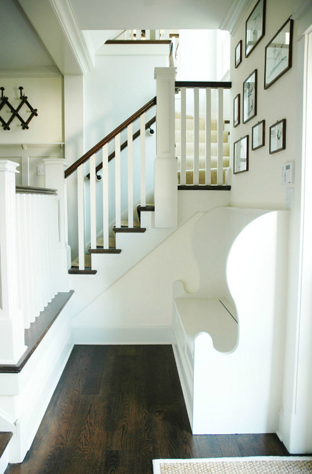 Foyer Ideas. Great foyer design ideas in this coastal cottage. Morrison Fairfax Interiors