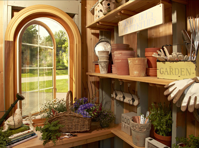 Garden Shed Ideas. Shed Storage Ideas.