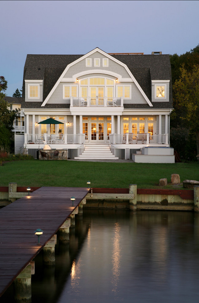 Hammond Wilson. Lake House. Charming Lake House. Lake House Design. #LakeHouse #LakeHouseDesign