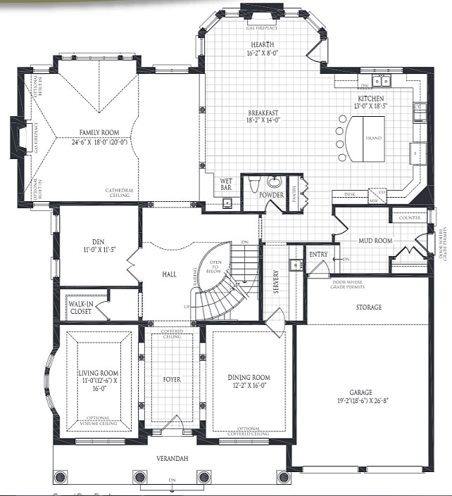 House Floorplan. Practical Family Home Floorplan Ideas. #Floorplan #HomesFloorPlan #FloorplanIdeas #FamilyHomeFloorplan Designed by Kylemore Communities Custom Homes.