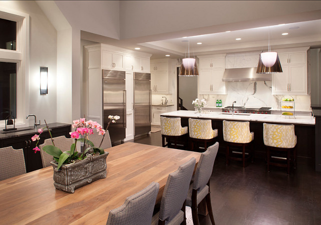 Transitional Kitchen Design. John Kraemer & Sons.