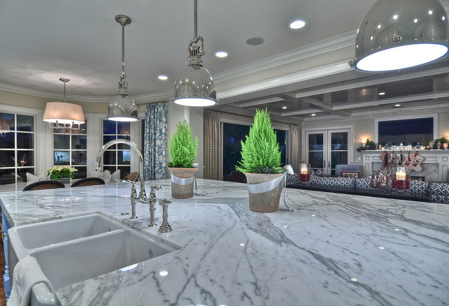 Kitchen Countertop. Kitchen Marble Countertop. #KitchenMarbleCountertop Spinnaker Development.
