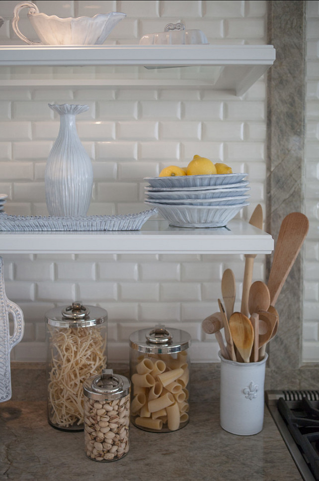 Kitchen Design. Open Shelves Kitchen Ideas.