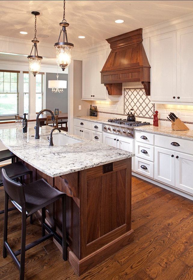Kitchen Ideas. Kitchen Cabinet and kitchen hood Ideas. LandMark Photography.