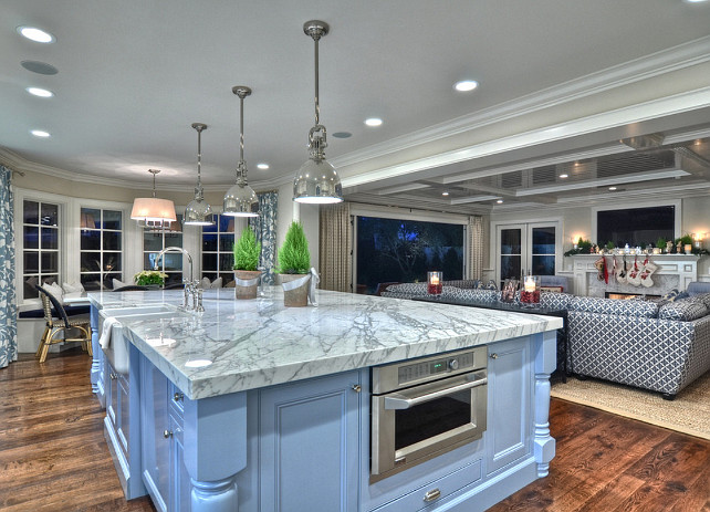 Kitchen Island Design. Kitchen island Design Ideas. #KitchenIsland #KitchenDesign Spinnaker Development.