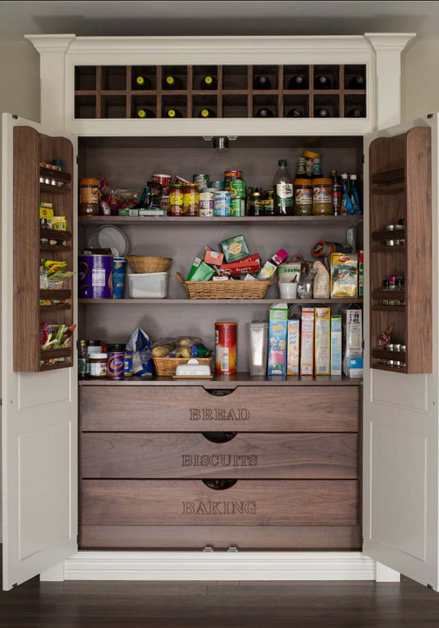 Woman's incredible storage space is being hailed as pantry porn