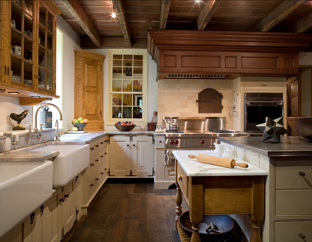 Kitchen. Country Kitchen. European Country Kitchen. Griffiths Construction, Inc.
