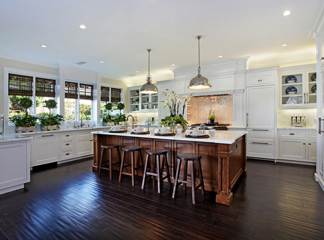 Kitchen. White Kitchen Design. #WhiteKitchen #Kitchen Fleming Distinctive Homes.