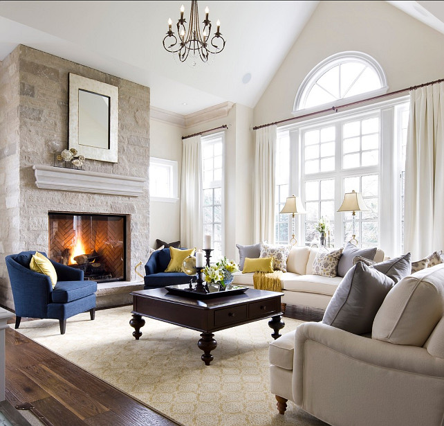 Living Room Furniture Layout. Inspiring Living Room Furniture Layout and Living Room Decor.. #LivingRoom #LivingRoomFurniture #LivingRoomLayout Designed by Jane Lockhart.