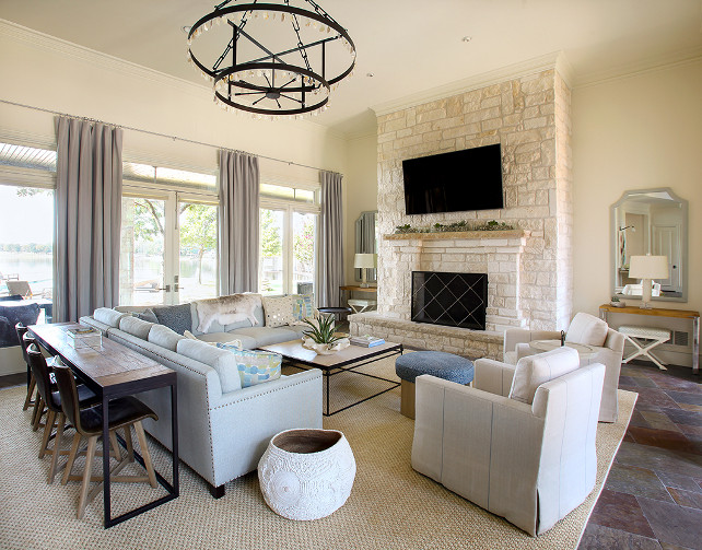 Living Room. Living Room Furniture Ideas. Inspiring Living Room Furniture and neutral decor. #LivingRoom #LivingRoomFurniture #LivingRoomLayout Tracy Hardenburg Designs.
