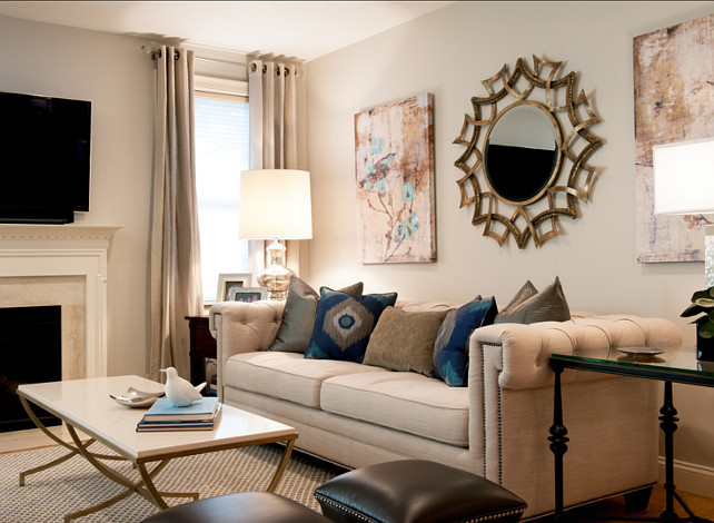 Living Room. Living Room Furniture Ideas. REFINED Interiors.