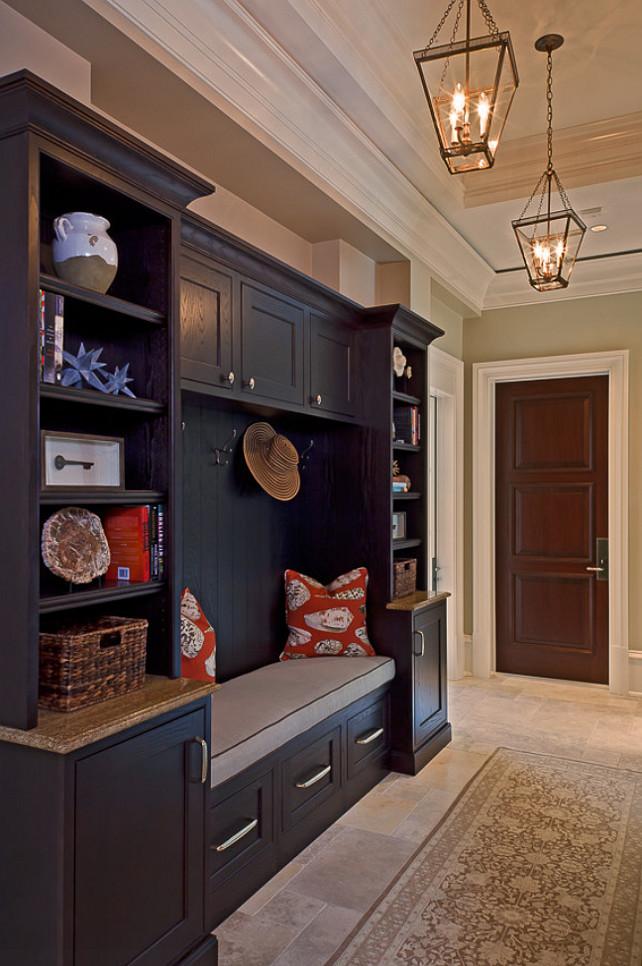 Mudroom Cabinet Design. Mudroom Cabinet Ideas. AlliKristé Custom Cabinetry and Kitchen Design.
