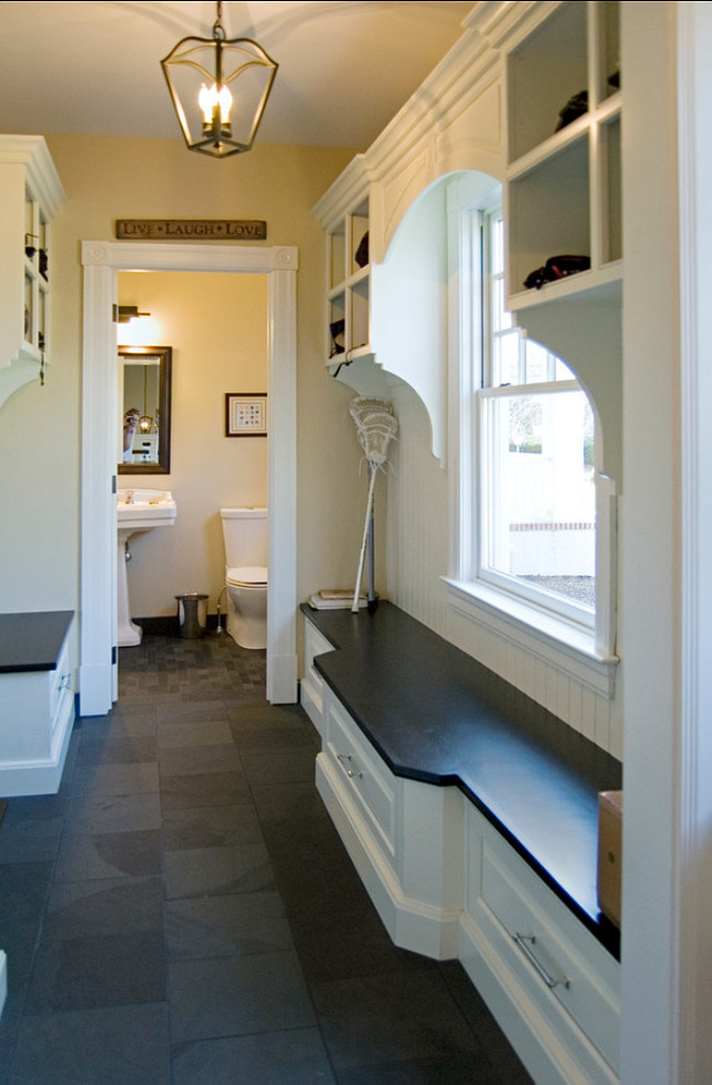Mudroom. Mudroom Ideas. Mudroom Storage Cabinet. Fox Associates, Inc.