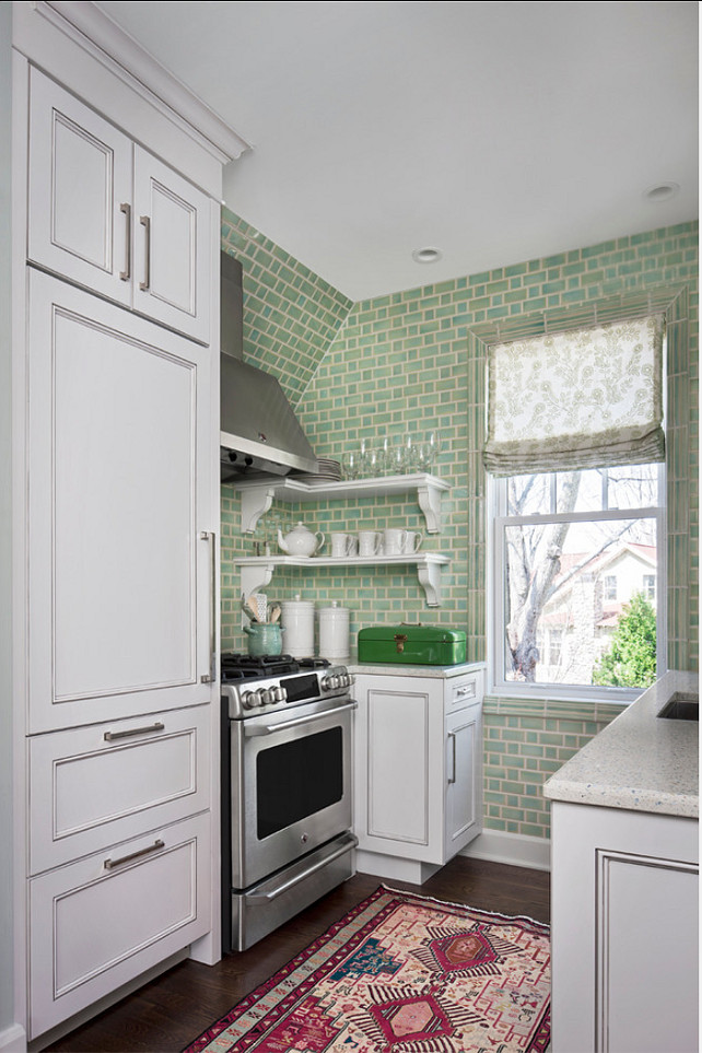 New York Style Kitchen. Small Kitchen #KItchen #SmallKitchen #NewYork