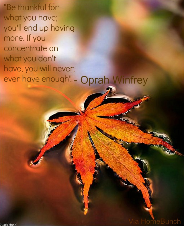 Oprah Winfrey Quotes. Photo by Jack Hood.