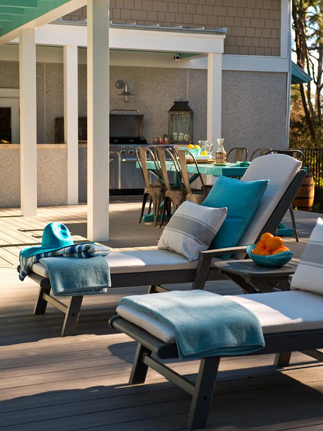 Patio Decorating Ideas. #Patio #PatioDecor #Furniture